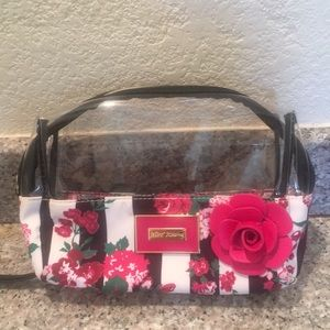 Betsey Johnson Floral Make-Up Bag